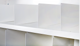 Anco Delta Plus Shelving Accessories - Slot-in Dividers