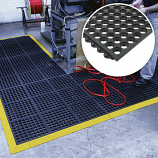 Open Fatigue Step Floor Matting