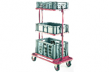 Three Tier Order Picking Trolley