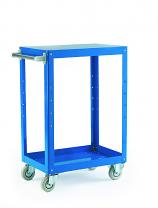 Reversible Tray/Shelf Trolley - 2 Shelf