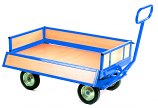 Heavy Duty Platform Truck - 4 Sided Unit