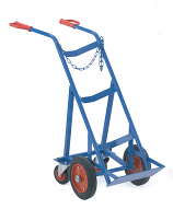 Gas Cylinder Trolleys with Rear Castors