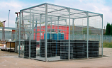 Mini and Maxi Mesh Security Cages