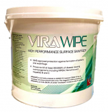 Virawipe high performance biodegradable surface sanitiser wipes, 225pk