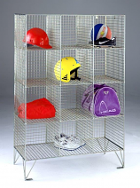 Wire Mesh Compartment lockers