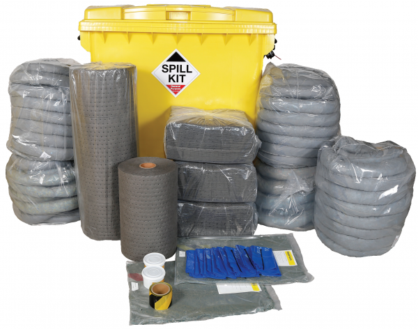 General Purpose Spill Kit in Wheeled IBC