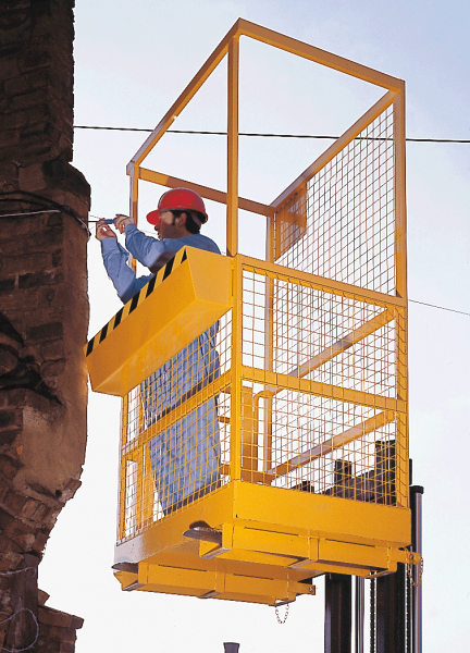 Heavy Duty Fork Lift Cage - 2100Hmm