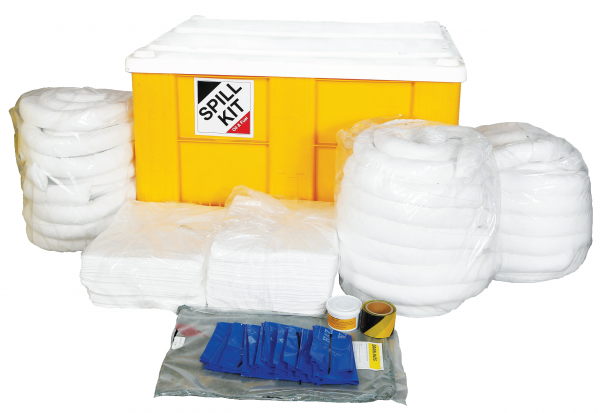 Oil and fuel Spill Kit in Box Pallet