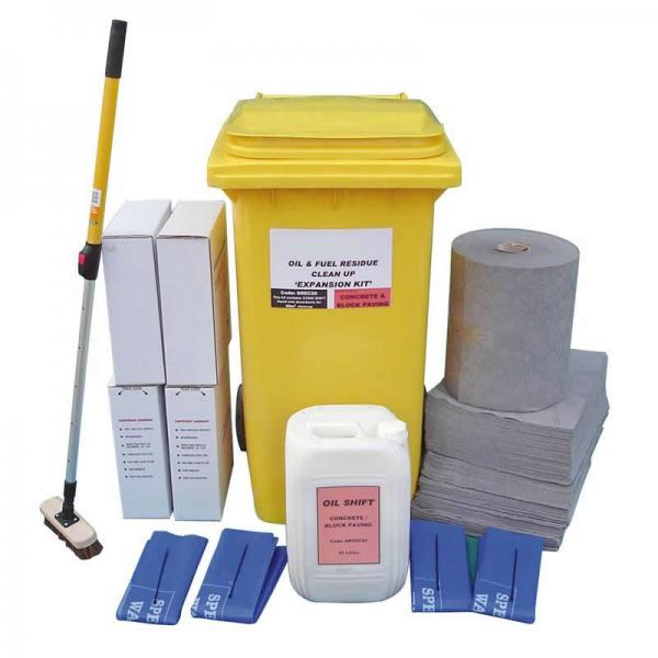 Concrete and Block Paving - Expansion Packs - up to 50m2