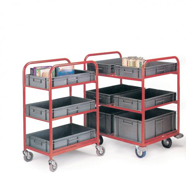 Container Trolleys With 6 Containers