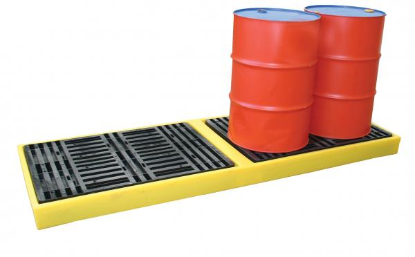 Four Drum In-Line Containment Work Floor