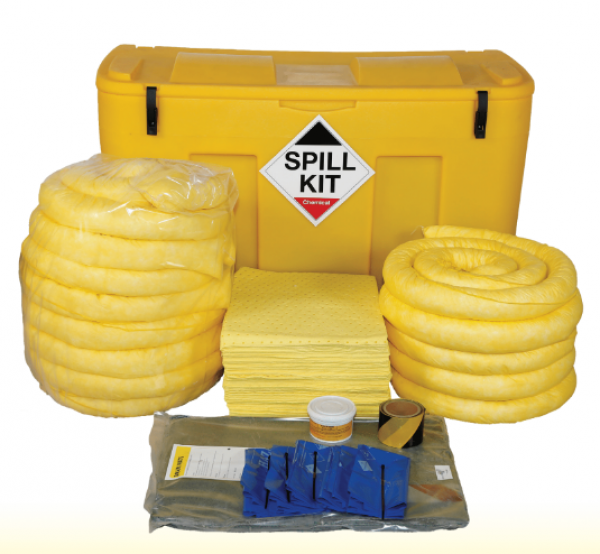 Chemical Spill Kit in Mobile Locker 250Litres