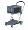 Clax Clever Folding Trolley - complete with 1 Folding Box