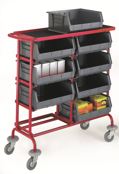 Container Storage Trolleys - 8 Containers