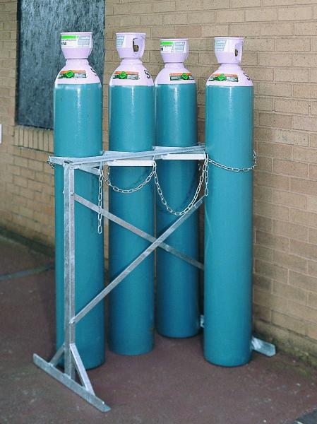 Gas Cylinder Storage - Double Sided
