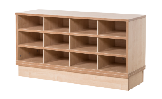 Library furniture KubbyClass paper storage