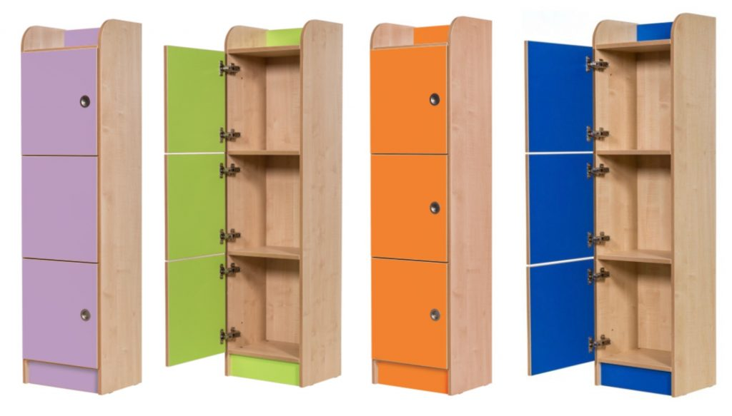 3 Door lockers Library Furniture