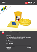 Chemical Spill Kit in Plastic Drum
