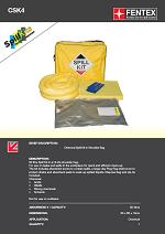 Chemical Spill Kit in Shoulder Bag