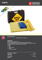 Chemical Spill Kit - Hard Carry Case