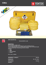 Chemical Spill Kit in Mobile Locker (CSKJ)