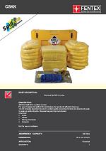 Chemical  Spill Kit in Wheeled Locker 400Litres