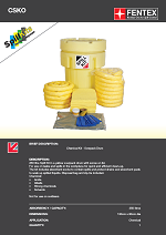 Chemical Spill Kit in Overpack Drum