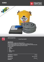 General Purpose Spill Kit in Plastic Drum