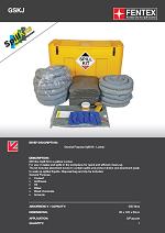 General Purpose Spill Kit in Mobile Locker