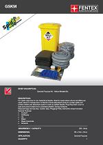 General Purpose Spill Kit in Wheeled Bin