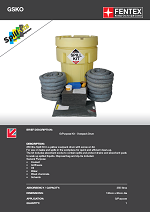 General Purpose Spill Kit in Overpack Drum