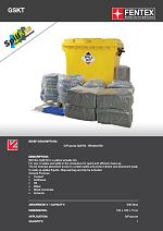 General Purpose Spill Kit in Wheeled Trunker