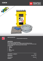 General Purpose Spill Kit in Wall Cabinet