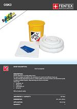 Oil Only Spill Kit in Plastic Drum