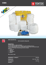 Oil Only Spill Kit in Wheeled IBC