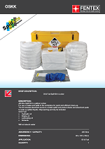 Oil Only Spill Kit in Wheeled Locker