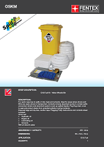 Oil Only Spill Kit in Wheeled Bin 250Litres