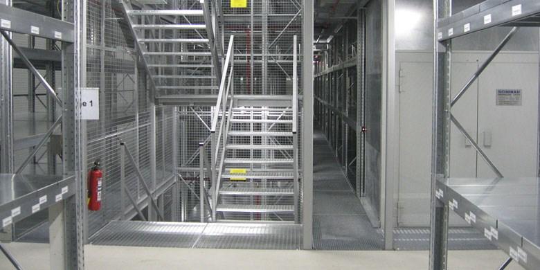 Multi-tier Pallet Racking p90