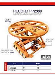 PALLET PAL Specification Sheet
